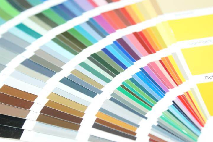 Farbtöne Pulverbeschichtung