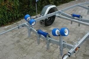 BTS 750 kg Small Bootstrailer