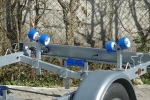 BT 1000 Bootsanhänger für Motorboote