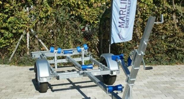 Marlin Trailer BTE 500 mit Maststütze