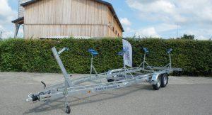 Marlin Trailer SBT 3000 Segelboot Anhänger mit 4 Stützen