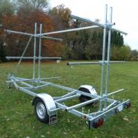 BT 750 kg Kanu Bootsanhänger