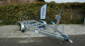 BT 2500 LA Bootstrailer