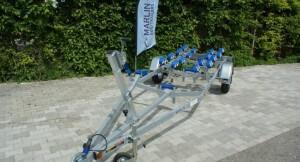 BT 750 Multiroller Bootstrailer