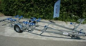 BTL 1500 Multiroller Bootstrailer